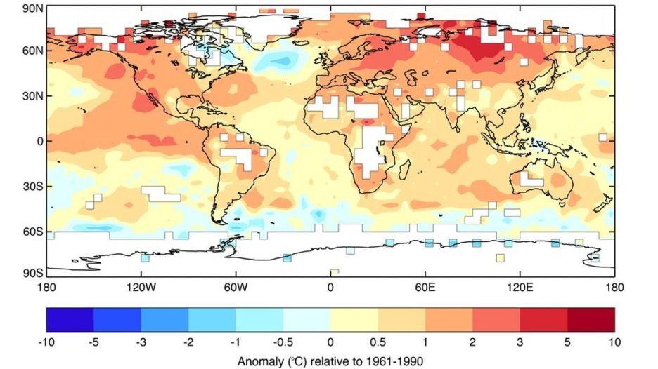 2015 Shattered Global Temperature Record Milton Keynes