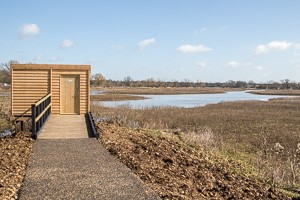 Number 1 hide, Floodplain Forest NR