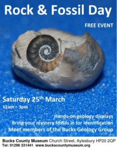 Rock and Fossil Day - Bucks County Museum 25 March 2017
