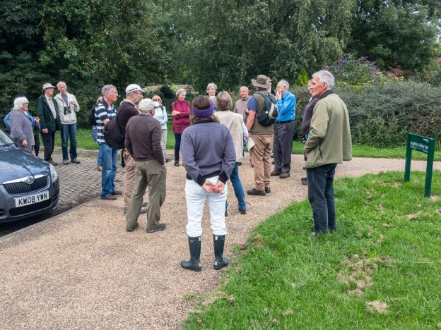 Loughton Brook - Briefing in the car park