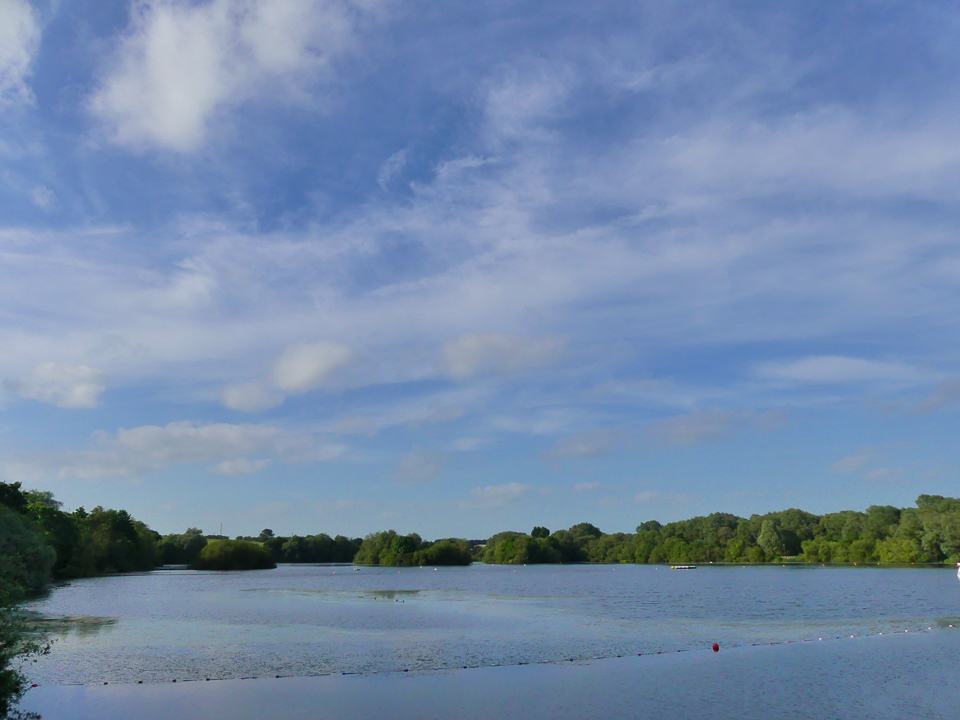 View over the lakes ©Harry Appleyard, Rushden Lakes 5 June 2018