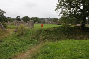 The Earthworks of Berkhamsted Castle by Peter Hassett
